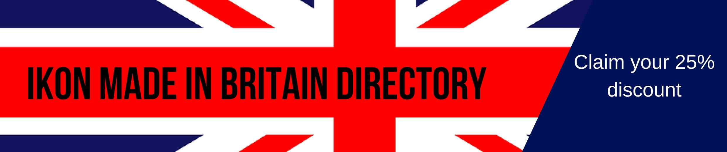 Ikon London Made in Britain Business Directory