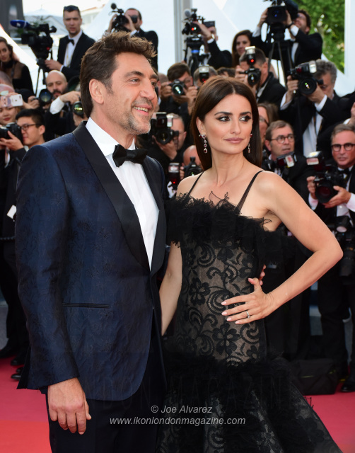 Javier Bardem Penelope Cruz Cannes Film Festival Everybody Knows Todos Lo Saben © Joe Alvarez
