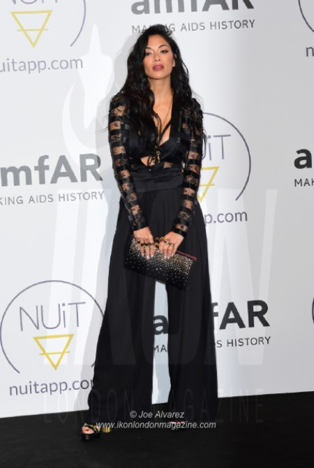 Nicole Scherzinger NUIT pre-amfAR party Cannes © Joe Alvarez 16580