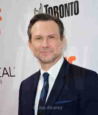 Christian Slater at The Public Premiere TIFF © Joe Alvarez