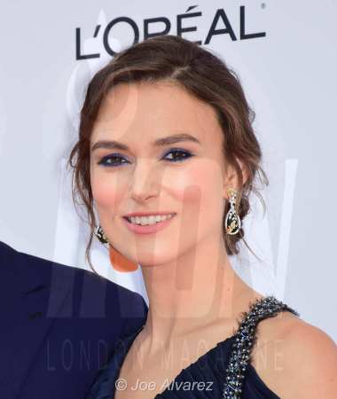 Keira Knightly at the premiere of Colette at Tornoto Film Festival