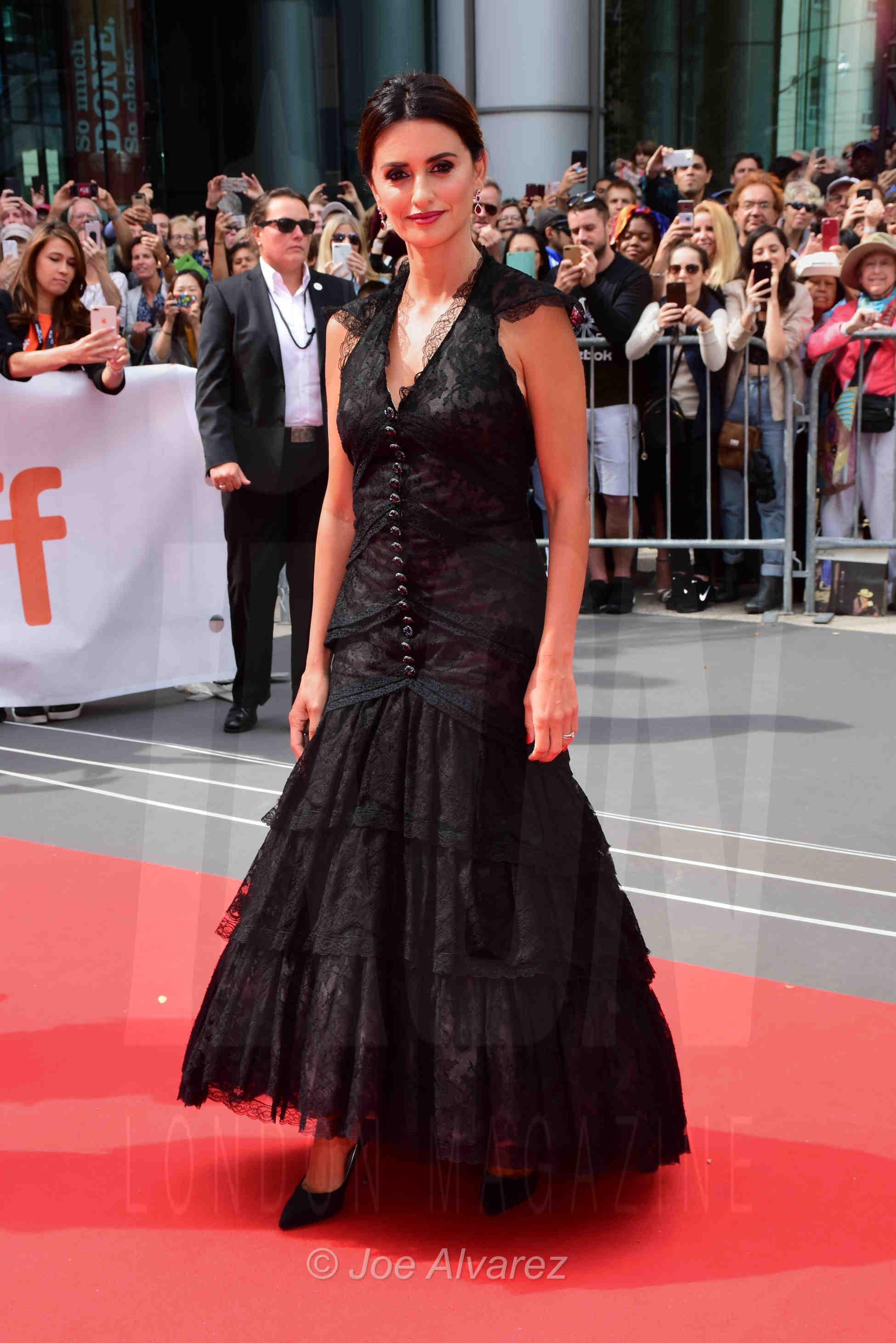 Penelope Cruz at the Toronto premiere of Everybody knows TIFF © Joe Alvarez