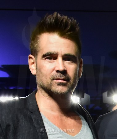 colin farrell at the press conference of Widows at Toronto Film Festival © Joe Alvarez 20799