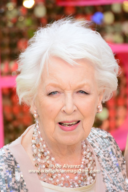 June Whitfield Absolutely Fabulous premiere © Joe Alvarez 32309