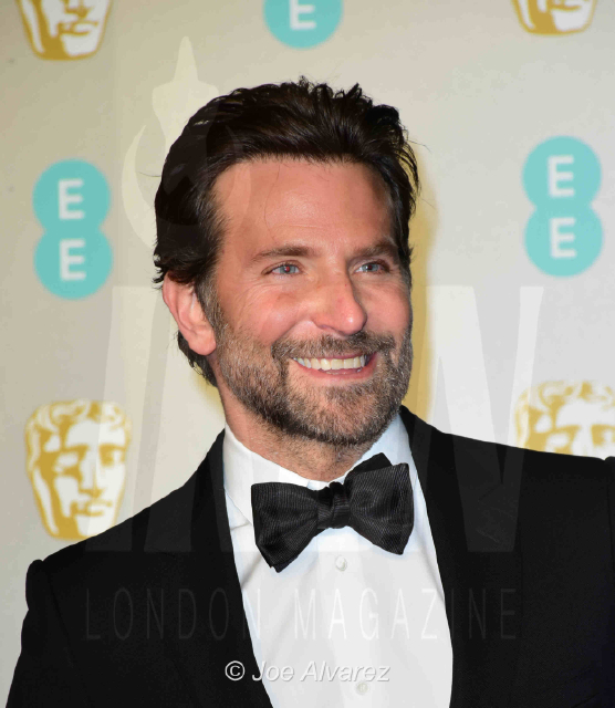 Bradley Cooper EE British Academy Film Awards 2019 © Joe Alvarez