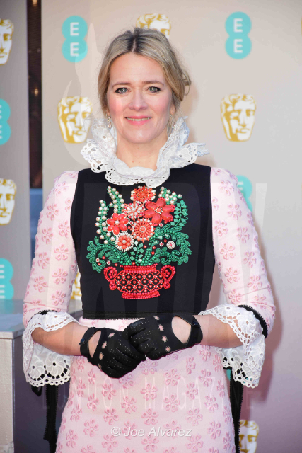 Edith Bowman EE British Academy Film Awards 2019 © Joe Alvarez