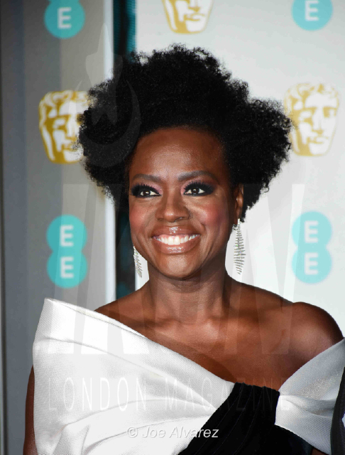 Viola Davis (Nominated for Lead Actress) EE British Academy Film Awards 2019 © Joe Alvarez