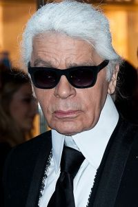 Karl Lagerfeld died age 85 © Christopher William Adach
