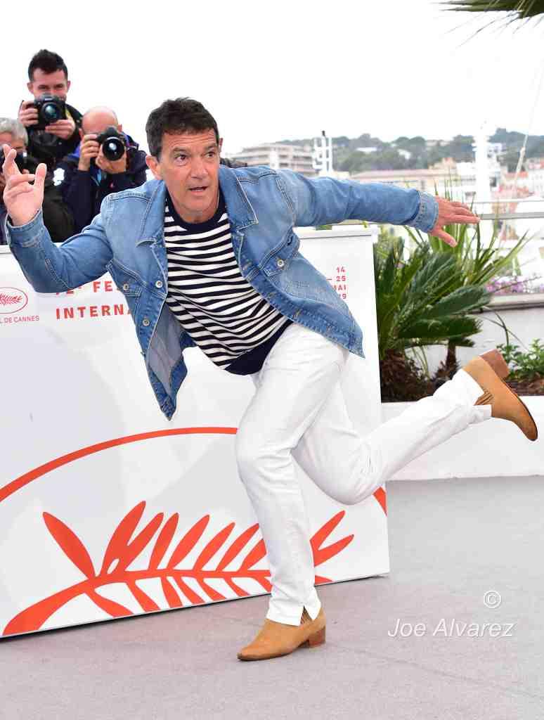 Antonio Banderas Dolor Y Gloria Pain and Gloria Photo call Cannes Film Festival © Joe Alvarez