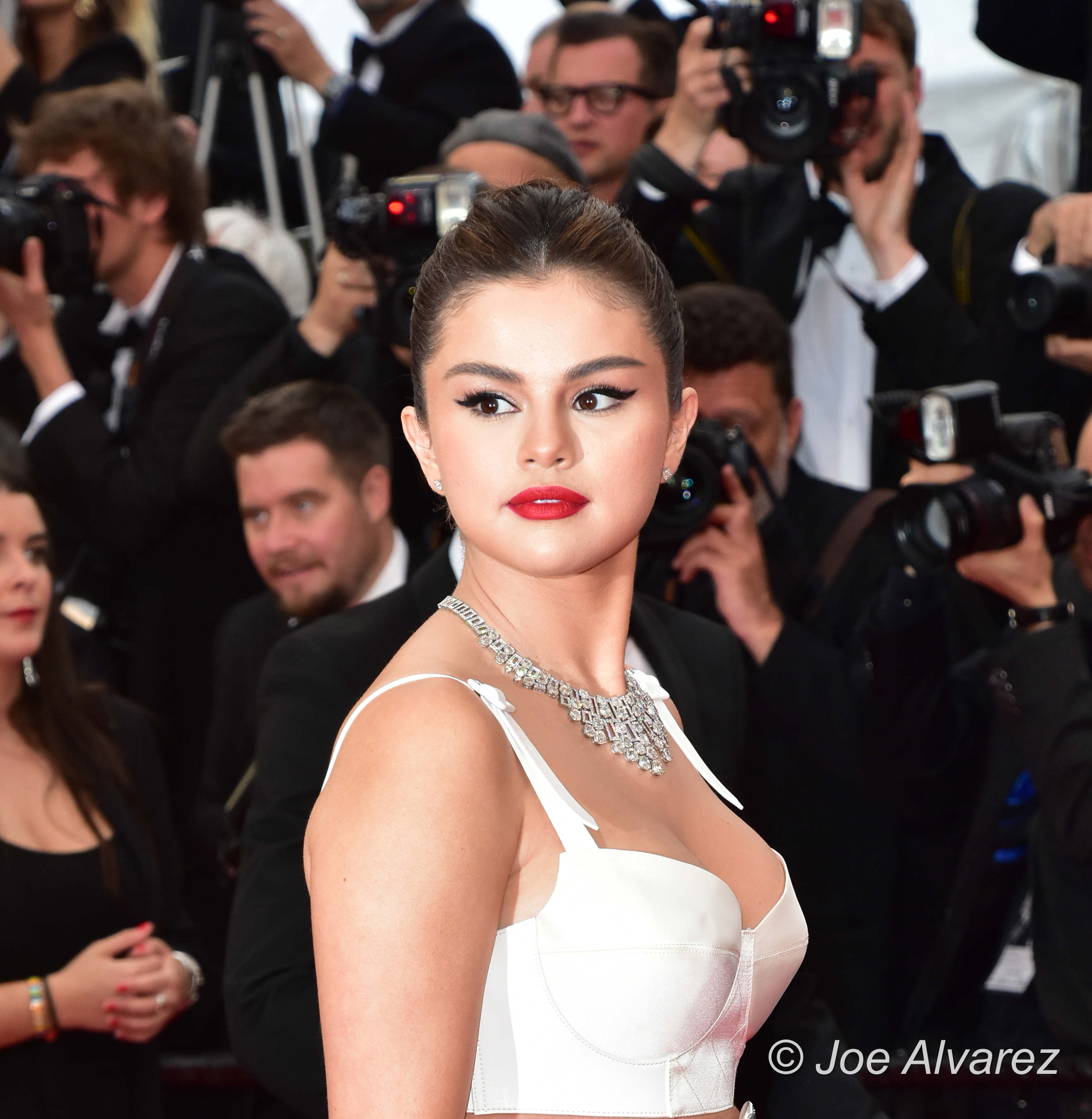 Selena Gomez 72 Cannes Film Festival attending the opening night premiere The Dead Don't Die © Joe Alvarez