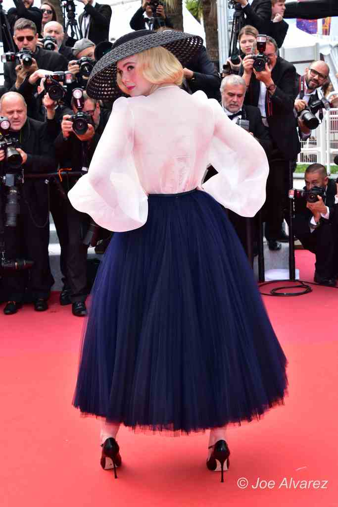 Elle Fanning 72 Cannes Film Festival premiere of Once Upon A Time in Hollywood © Joe Alvarez