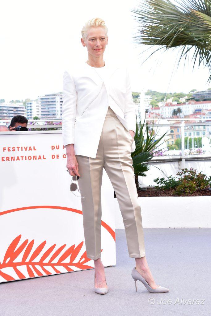 Tilda Swinton The Dead Don't Die - Cannes © Joe Alvarez