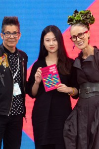 Jeo Alvarez Graduate Fashion Week 2019 judge