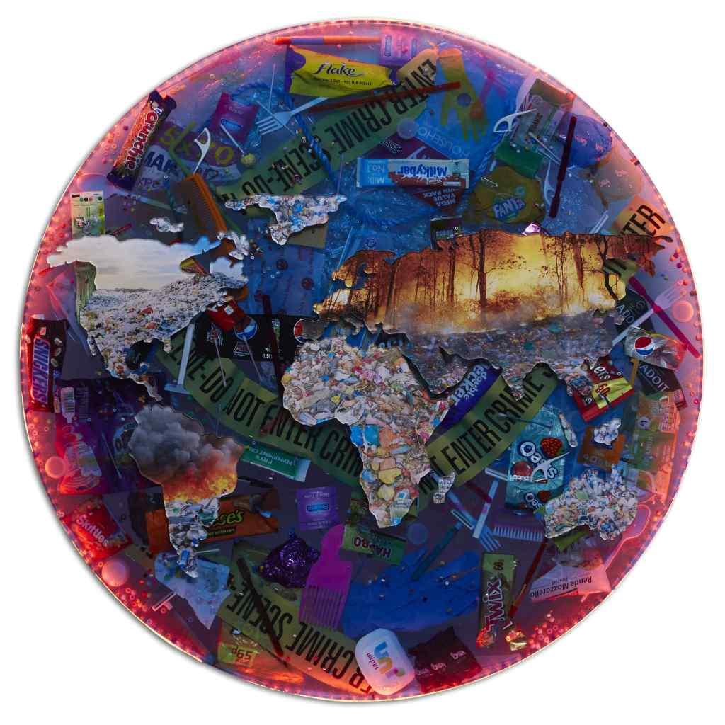 The World is on Fire by Natalia Kapchuk