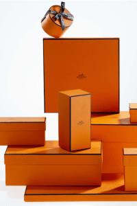 Hermes Orange Boxes