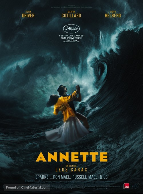 Annette to open Cannes Film Festival