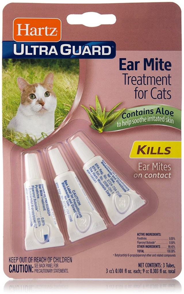 Ear Mite Treatment For Cats