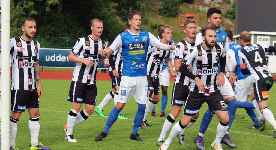Hörna mot Landskrona. FOTO: Susann Sannefjäll
