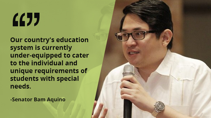 We Need Learning Resource Centers for Children With Special Needs – AQUINO