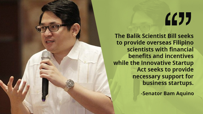 We Must Support Filipino Scientists and Innovative Startups – AQUINO