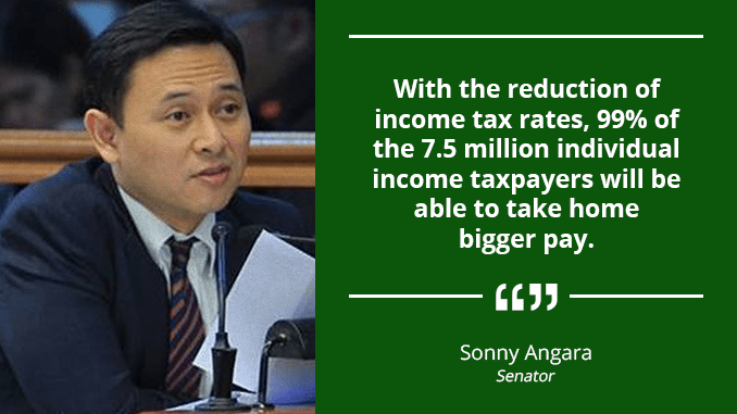 Teachers, Both Public and Private, to Benefit from Tax Reform Bill – ANGARA
