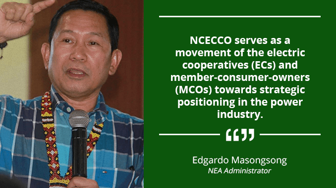 National Central Office in NCR for Electricity Consumers – MASONGSONG