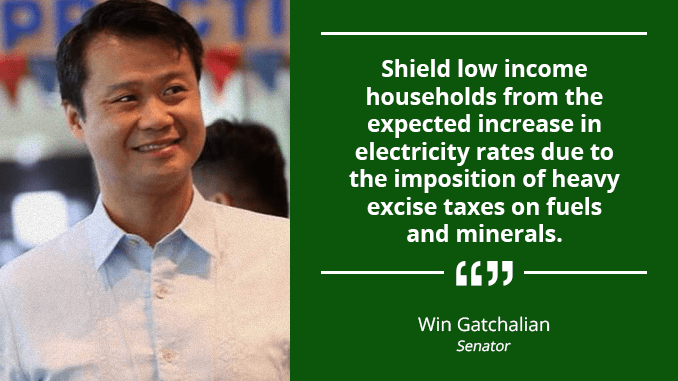 Senate Must Use Oversight Powers to Ensure Implementation in an Equitable Manner of New Tax Reform Law – GATCHALIAN