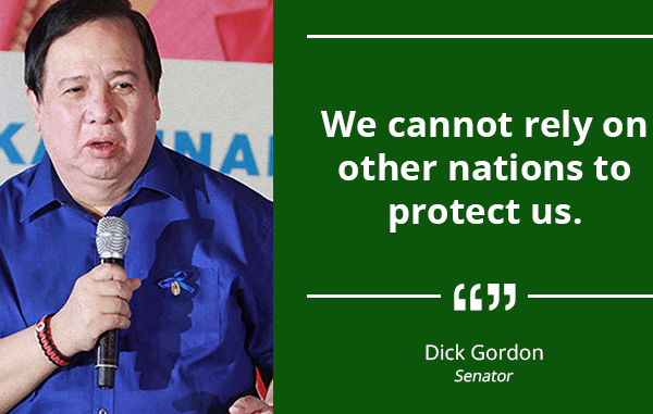 Set Aside Funds for the Modernization of the Armed Forces of the Philippines – GORDON
