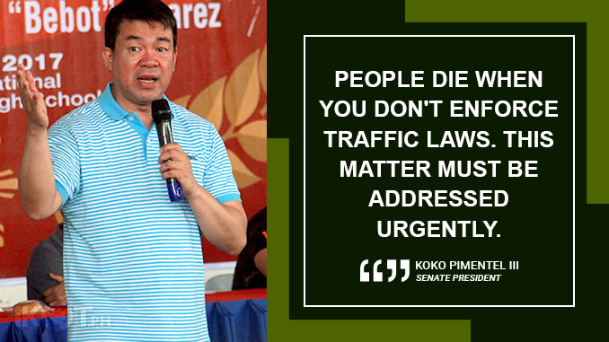 ENFORCE STATE LAWS ON MOTORCYCLE SAFETY – PIMENTEL
