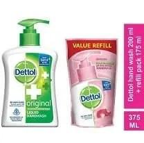 dettol handwash plus refill, handwash and refill