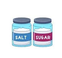 SUGAR AND SALTS