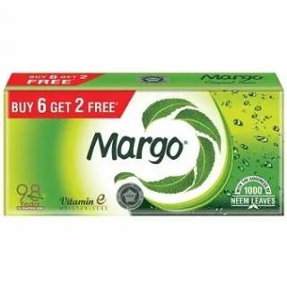 margo original neem soap 125 g pack of 6 + 2 free