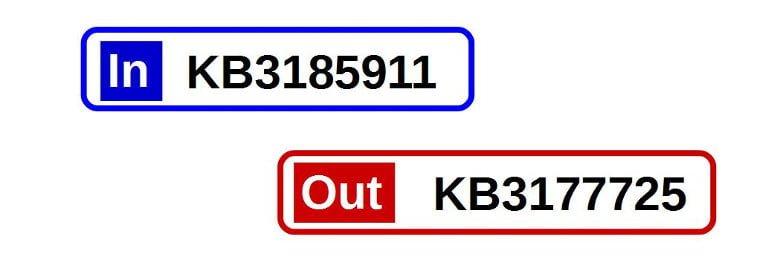 2016年9月月例アップデートの注目はKB3185911とKB3172605