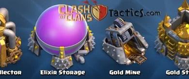 Mencari gold elixir di clash of clans