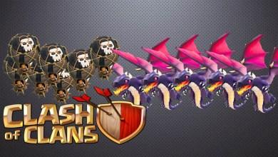 Tips Serangan Udara Clan War Naga Balon