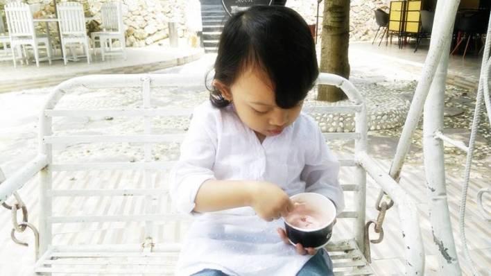 Jajanan Es krim enak di bandar Lampung