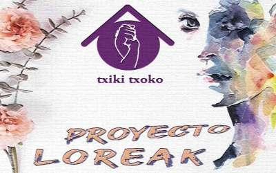 Proyecto Loreak para mujeres en situación de vulnerabilidad.