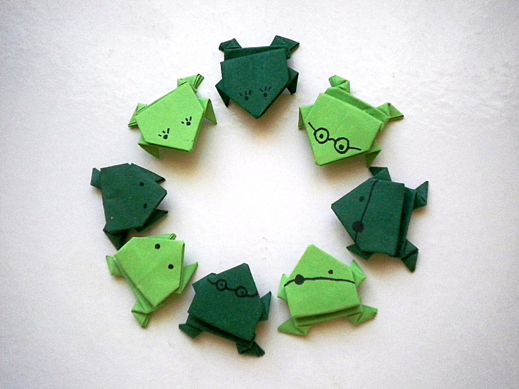 origami jumping frog diagram hz holden one tonner wiring group of 2018