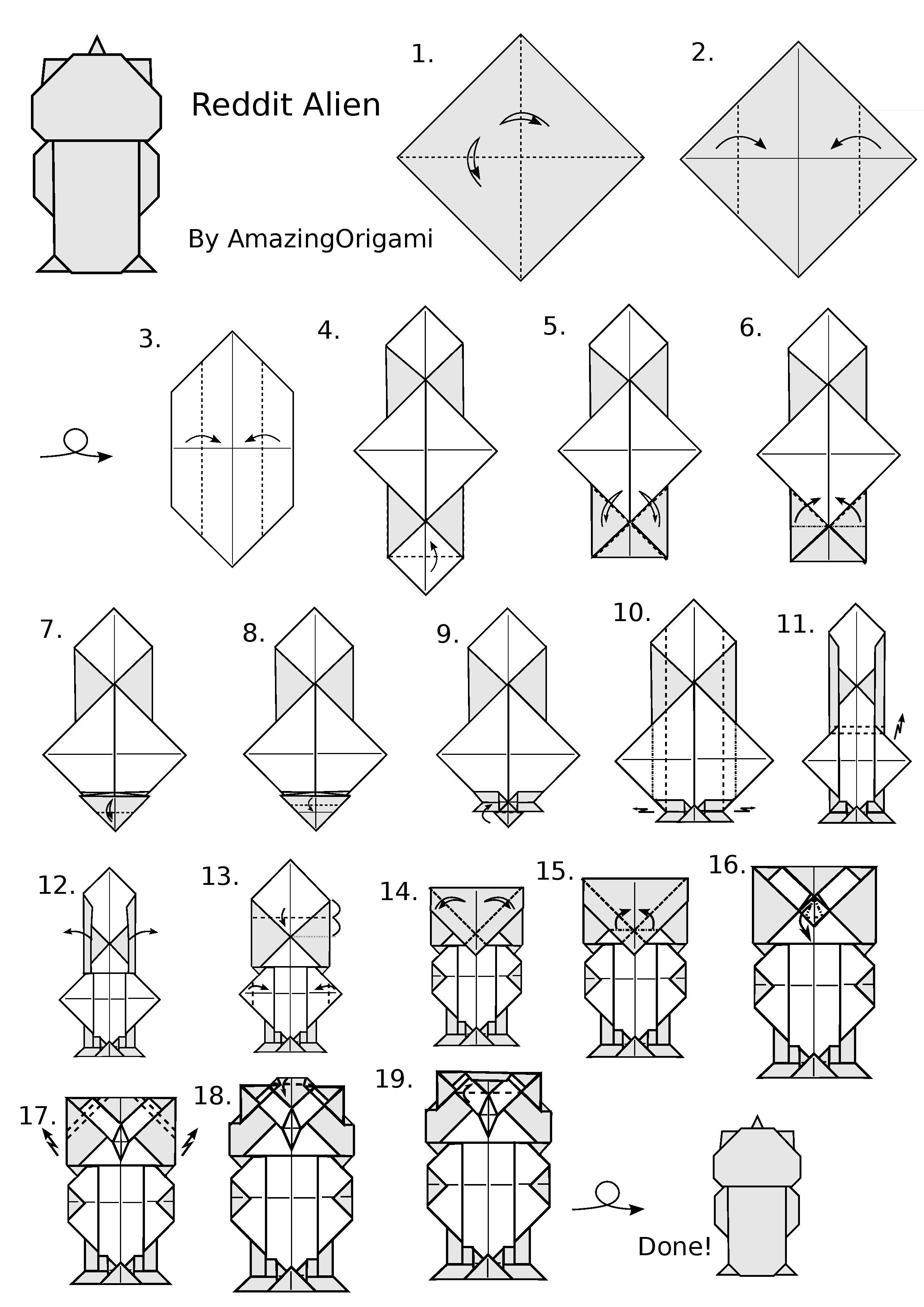 Cool Origami Pokemon Instructions