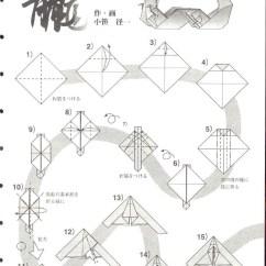 Origami Pokemon Diagram Fetal Pig Mouth Ikuzo