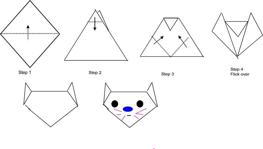 how to make origami for kids 2015