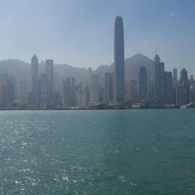 SKyline Hong Kong from the water