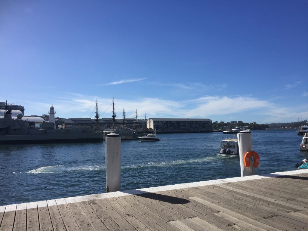 View from docks at Darling Harbour