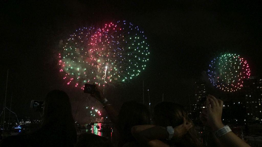 Fireworks New Years Eve Sydney