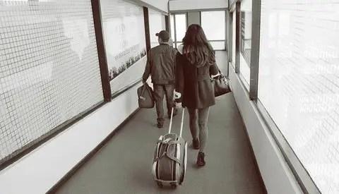 Airport suitcase