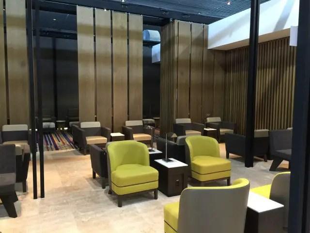 Wat is een airport lounge