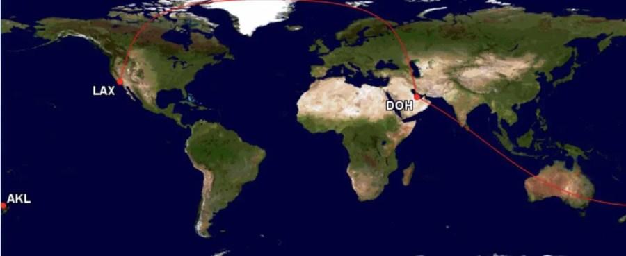 Asia Miles - Langste afstanden - Londen - Perth - Los Angeles
