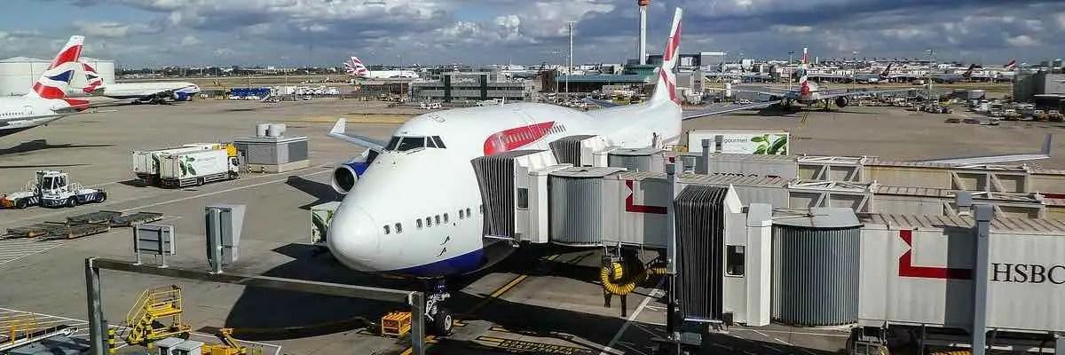 Londen London Heathrow Gatwick British Airways Virgin Atlantic overstappen transfer via