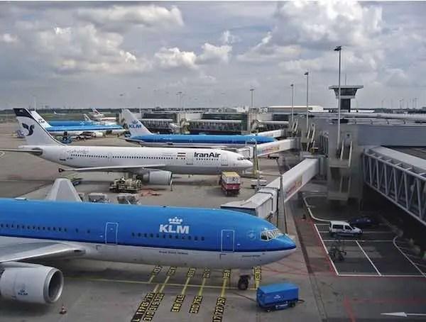 Schiphol privium Plus American Express AMEX