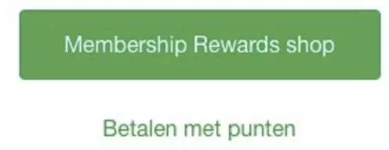 Wat kun je doen met American Express Membership Rewards punten 2